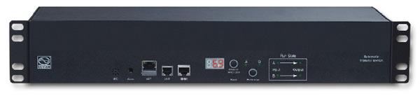 Automatväxel för redundant strömförsörjning med övervakning