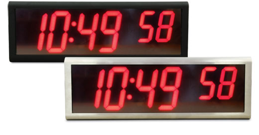 NTP LED stor Display