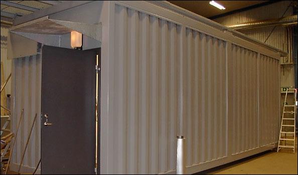 Datahall/Serverrum, inomhus