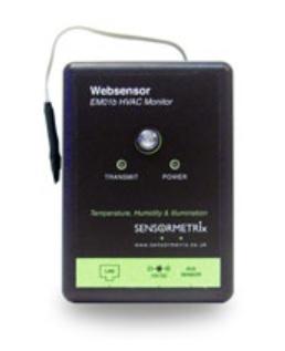 Expanderbar web-sensor för flera olika givare