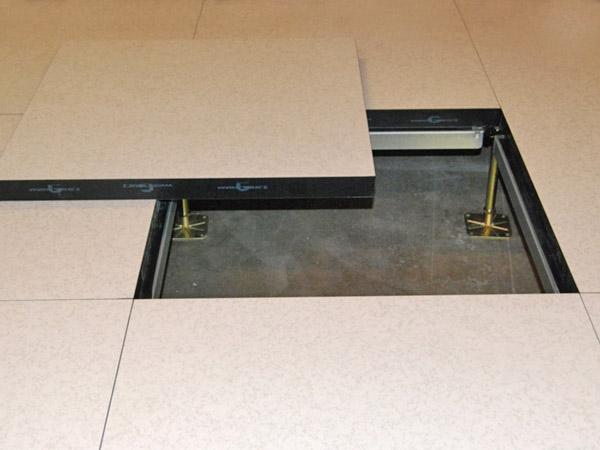 Antistatisk golvplatta, linoleum